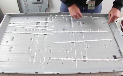 Inlocuirea panoului backlight la Televizoarele  LED